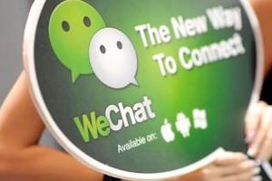 wechat uygulaması Blackberry'de
