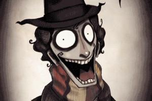 Tim Burton karakterleri GIF formatında