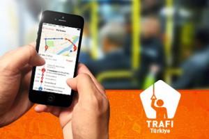 Trafi app Türkiyede