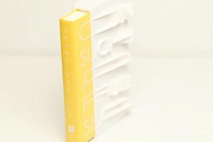 İlk kez bir kitap kapağı üç boyutlu yazıcı ile yapıldı