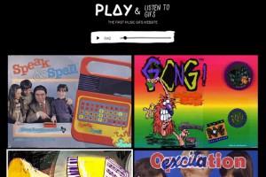 İlk müzik gif'leri internet sitesi yayında