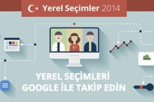 """Google Yerel Seçim 2014 portalında """"Seçmen Sohbetleri"""" başlıyor"""