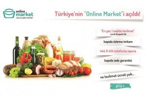 Online Market emarket'i uygulama yolunda
