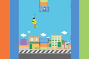 Susam Sokağı'ndan Flappy Bird uyarlaması