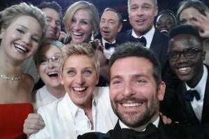 Ellen DeGeneres'in Oscar Selfie'si paylaşım rekoru kırdı