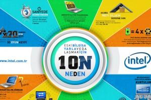 Intel'den bilgisayarınızı yenilemek için 10 sebep