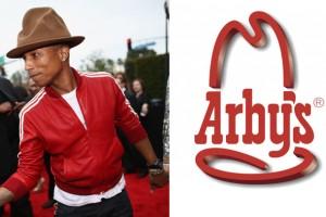 Pharrell Williams'ın ünlü şapkasının sahibi Arby's oldu