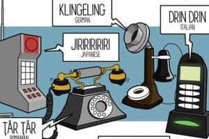farklı dillerde telefon nasıl çalıyor