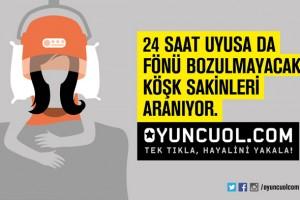 www.oyuncuol.com, Tek tıkla, hayalini yakala' sloganıyla 15 gün önce yayına girdi.
