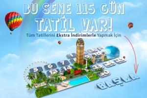 Setur'dan Facebook'ta tatil takvimi uygulaması