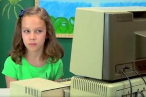 Apple bilgisayarını ilk kez gören çocukların nasıl tepki verdiğini izleyin