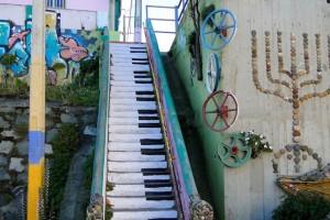 Sokak sanatının en güzel örneklerinin görüldüğü 16 merdiven