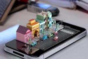 iPhone'a özel holografik konsept geliştirildi
