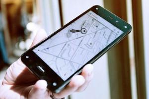 Amazon'un yeni Fire Phone'u için görsel tur