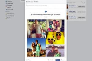 facebook ilişkileri kutluyor