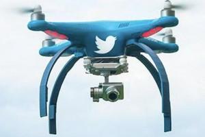 twitter'ın drone hesabı