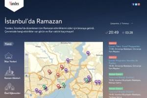 İstanbul'da Ramazan Yandex ile Yaşanır