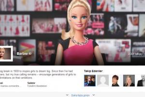 Barbie'nin de artık LinkedIn sayfası var