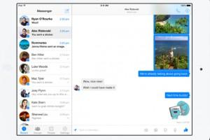 Facebook'un yeni uygulaması iPad'ten arama yapmanıza imkân veriyor