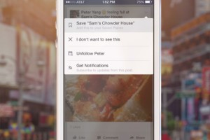 Facebook paylaşımlarını hemen okuyamıyor musunuz Daha sonrası için saklayın