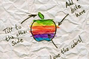 Sharpie basılı reklamları büyük logoların nasıl başladığına işaret ediyor