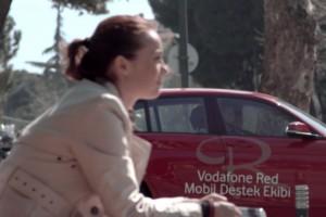 Vodafone Red ekibi telefonu kırılana anında hizmet veriyor