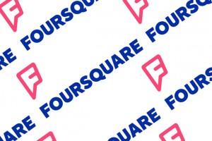 foursquare'in logosu değişti