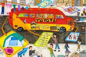 Toyota çocuklardan geleceğin araçlarını çizmelerini_istiyor