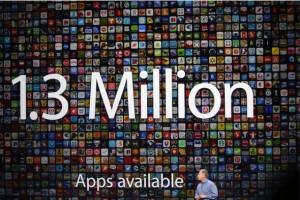 App Store'da iOS uygulama sayısı 1,3 milyona ulaştı