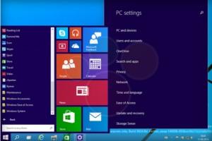 Windows 9'a ait ekran görüntüleri sızdırıldı