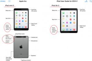 Apple iPad Air 2 ve iPad mini 3 fotoğraflarını paylaştı
