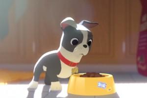 Disney'in yeni animasyon filminde iştahı açık sevimli bir köpek başrolde