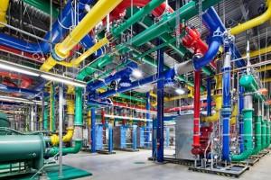 Google'ın muazzam büyüklükteki veri merkezleri