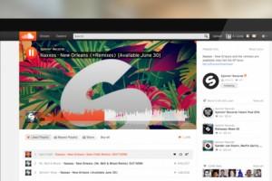 SoundCloud tasarımını yeniledi