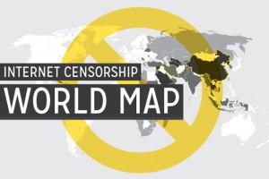 Dünyadaki internet sansürü hangi bölgelerde