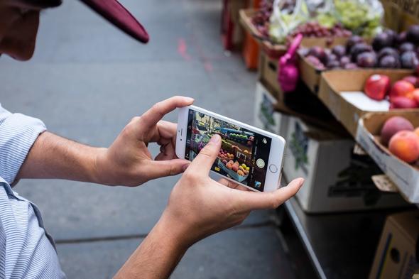 Как сделать фокусировку на айфоне