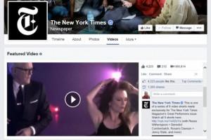 Facebook Sayfalar, güncellenmiş video sayfasına sahip