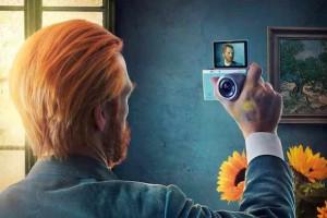 Samsung reklamları ünlü sanatçıların selfie çekerken fotoğraflarına yer veriyor