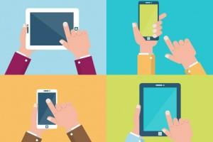 """2014'te en çok akıllı telefon ve tabletten """"aradık''"""