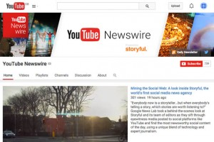 YouTube, görgü tanığı kanalını oluşturdu