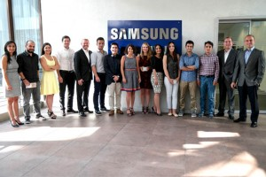 """""""Discover Samsung"""" projesiyle seçilen üniversiteli gençler, Samsung'da işe başladı"""