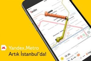 Metrobüs, Metro ve Tüm Raylı Sistemler Artık Yandex Metro'da