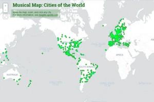 Spotify dünyanın müzik haritasını çıkardı