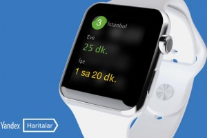 Yandex Haritalar, Apple Watch ile artık kolunuzda