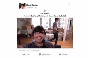 Facebook, slow motion reklamlarda durum güncellemesini getiriyor