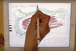 iPad Pro çizim Tonguç Akademi