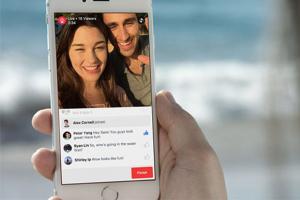 Facebook'ta canlı yayın devri başlıyor