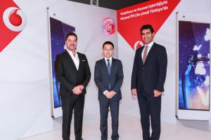 Vodafone ve Huawei'den 4.5G için birleşti