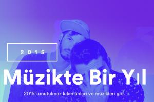 spotify 2015 müzik listesi