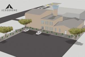aerodrome drone hava limanı